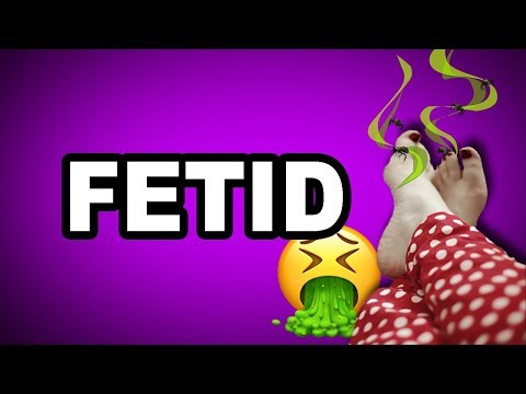 👃👎 Learn English Words - FETID - Meaning, Vocabulary with Pictures and Examples
