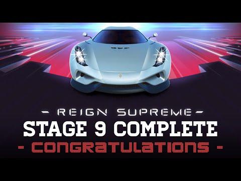 Real Racing 3 Reign Supreme Final Stage 9 Upgrades 1110101 R$ 424.400 - Koenigsegg Regera RR3