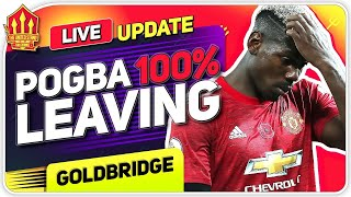 Pogba 100% Leaving! Sancho Transfer Race Begins! Man Utd News Now
