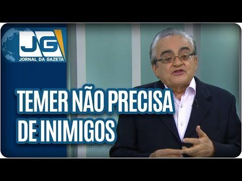 José Nêumanne Pinto/Com os amigos que tem, Temer não precisa de inimigos