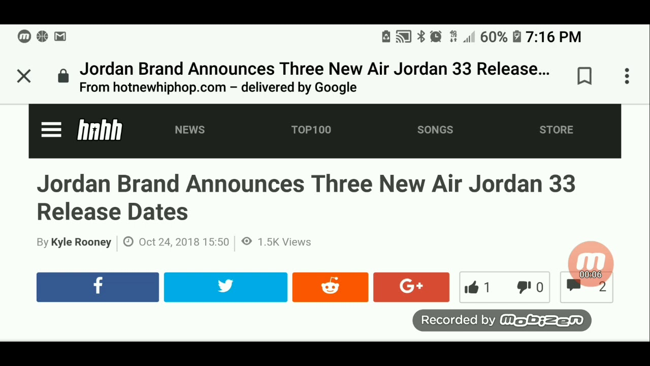 3ed8f89c1c55 Jordan brand announces 3 new Air Jordan 33 release dates. - YouTube