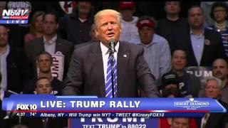 Where's the swear jar?! Donald Trump Says He Kicked Ted Cruz's A-S-S - FNN