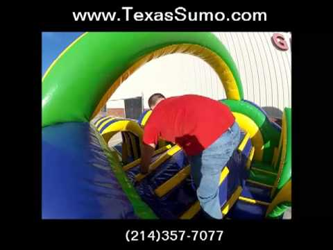 Radd Obstacle Course - Giant Inflatable Rental - Dallas, TX