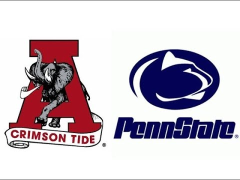 1983 #3 Alabama at Penn State (Highlights)