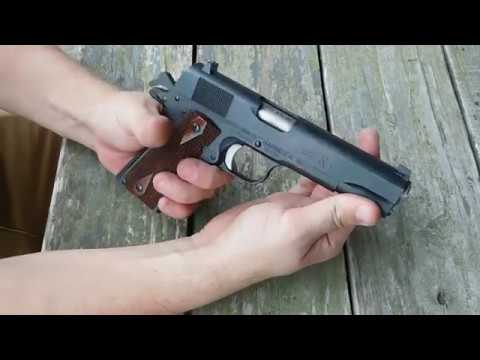 Remington 1911 R1 45 ACP Pistol Review