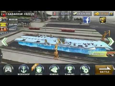 Warship Battle Game - Episode 16 - Mission 5 - Habakkuk Freeze