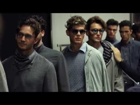 Giorgio Armani – 2017 Spring Summer – Men's Fashion Show Backstage