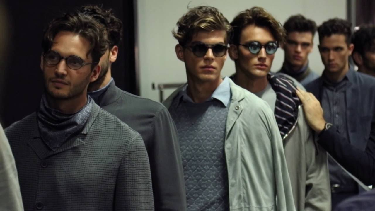 6517d59e94 Giorgio Armani - 2017 Spring Summer - Men s Fashion Show Backstage - YouTube
