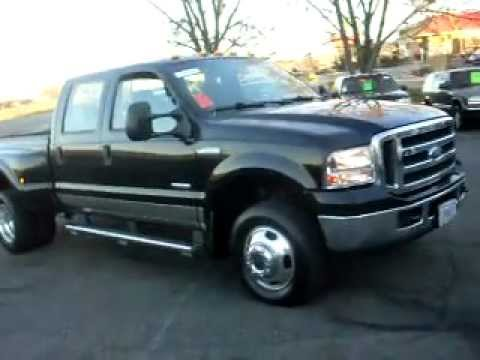 2005 Ford F350 XLT, Crew cab 4dr, 4x4, DIESEL, Dually with short box ...