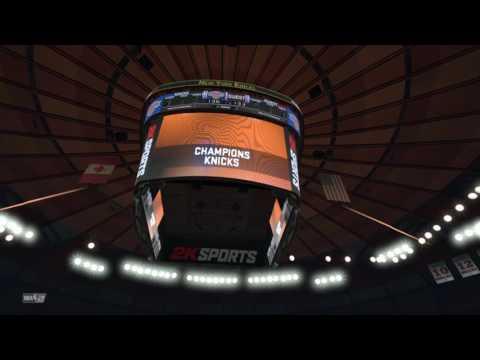 NBA 2K17 New York Knicks Game Winner!