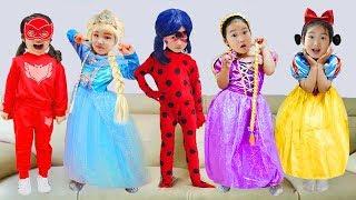 أغنية طفل للأطفال و بولام Five little Babies Jumping on the bed song