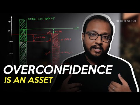 Overconfidence is an Asset - It is a secret weapon that can be used for success