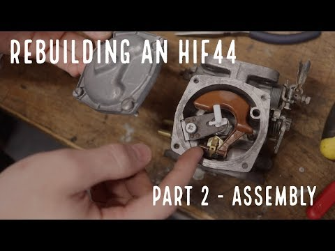 Classic Mini HIF44 SU carburetor service kit