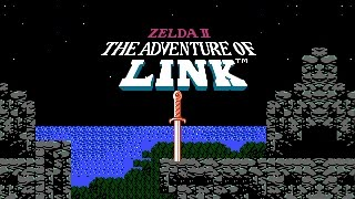 Zelda II - The Adventure of Link - HD Full Playthrough no Commentary