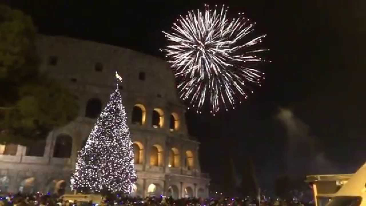 New Year  15 Celebration in the Backdrop of Colosseum  Rome  Italy     New Year  15 Celebration in the Backdrop of Colosseum  Rome  Italy   1