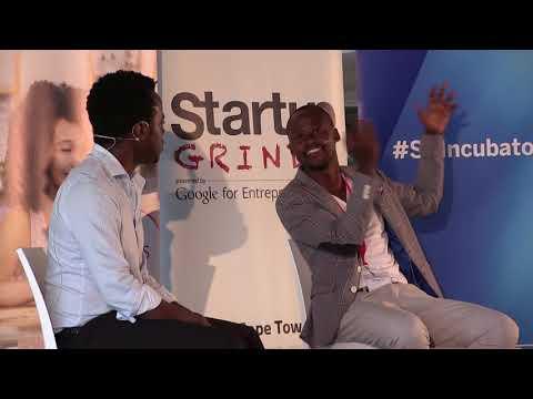 Startup Grind Cape Town hosts Vincent Manzini (Ikapalive & Blank Kanvas) #StartCPT