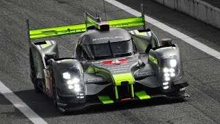 2016 bykolles clm p1 01 le mans prototype aer twin turbo v6 engine sound