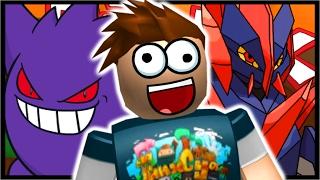 GENGAR & GIGALITH EVOLUTION!! | Roblox Pokemon Brick Bronze | Ep 27