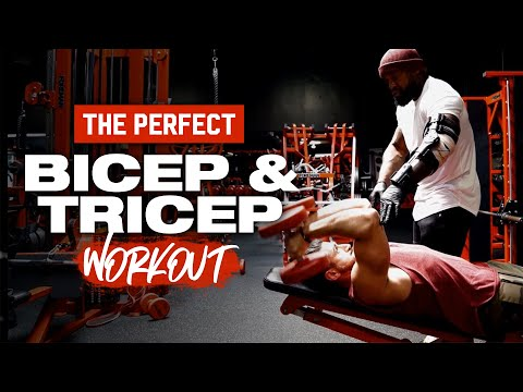 The PERFECT Bicep & Tricep Workout | Mike Rashid
