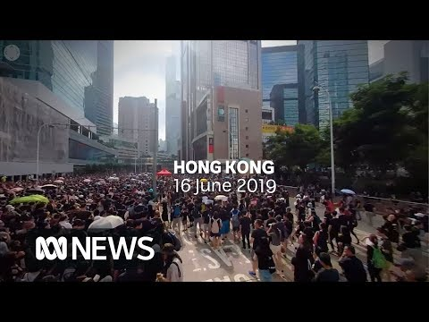 360°: Among the Hong Kong protesters as they fight controversial extradition bill   ABC News