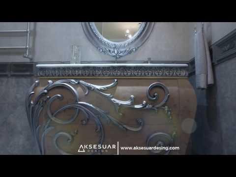 Aksesuar Design - Istanbul Showroom - Classic Bathroom Designs