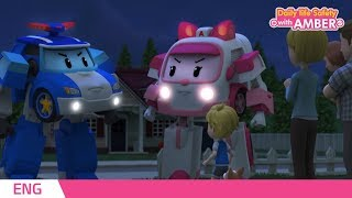 🚨 Daily life Safety with AMBER   EP 05  Robocar POLI   Kids animation