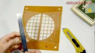 видео Решетка для вентиляции с обратным клапаном