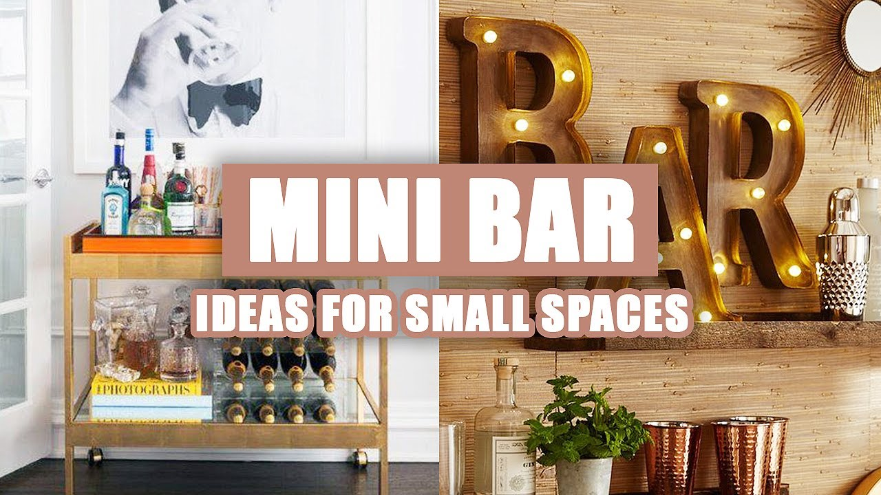 55 Best Modern Home Mini Bar Ideas For Small Spaces 2020 Youtube