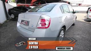NISSAN SENTRA 2.0 2009 TOP DE LINHA É AQUI NA ALDO'S CAR MULTIMARCAS