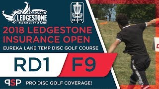 Round One 2018 Ledgestone Insurance Open - Front 9 | Locastro, Gurthie, Patton, Sexton