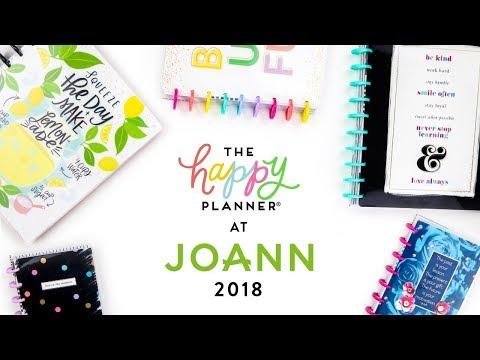 REVEAL WEEK! // JOANN 12-Month Happy Planners!