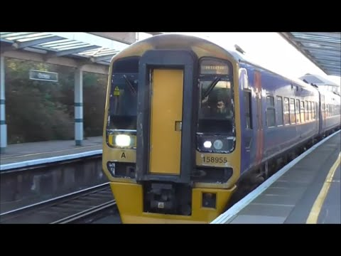 Trains @ Chichester Railway Station - 16th January 2016