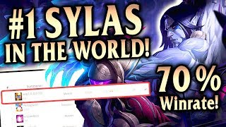 THE #1 SYLAS IN THE WORLD IS BRILLIANT! 70% WR! Korean Masters Sylas Mid - League of Legends S9