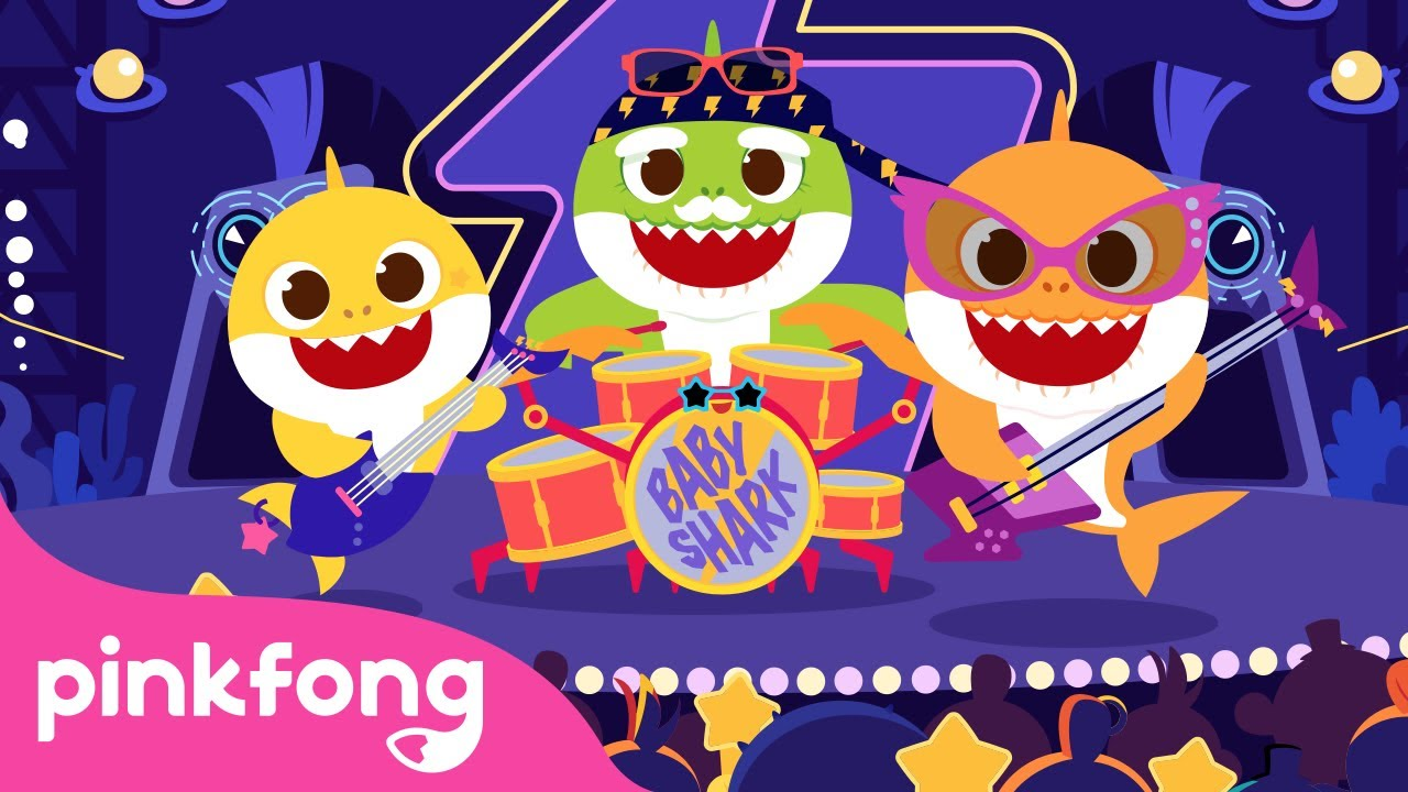 🎸 I'm a Rock Star Baby Shark   Nursery Rhymes   Pinkfong Songs for Children @Baby Shark Official