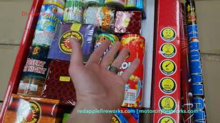 Fireworks Sampler: Dragon Box Unboxing & Tour w/ Doug from Red Apple/Motor City Fireworks