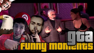 The Family Vacation (GTA Funny Moments w/ Chilled, SeaNanners, and Slam)