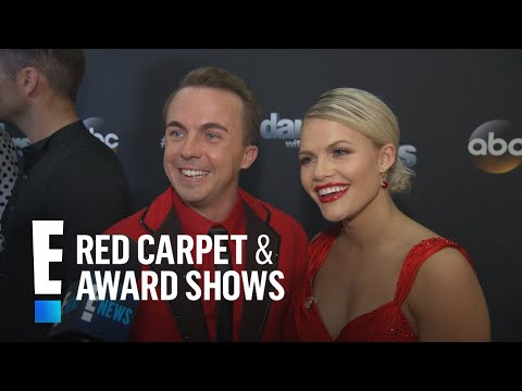 """Frankie Muniz & Witney Carson Excited for """"DWTS"""" Cha Cha 