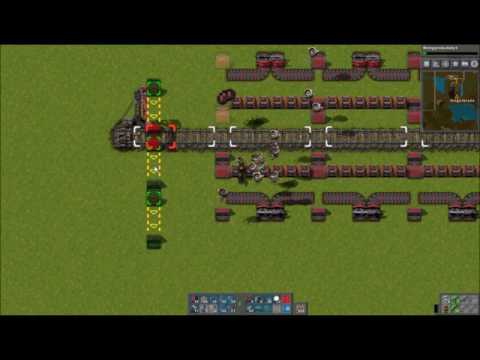 lets play factorio with Brightblade episode 43 : finishing off the iron furnace