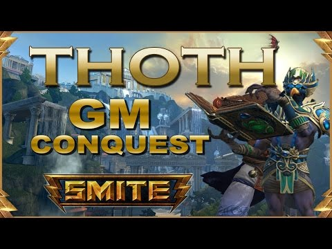SMITE! Thoth, Probando las warchibuilds xD! GM Conquest #48