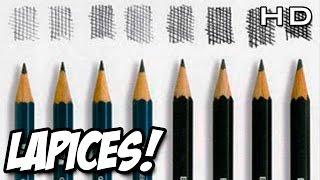 Lápices de Dibujo H y B ¿Qué son? ¿Para qué sirven? - Escala de valores tonales