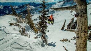 Лыжи Фрирайд США Юта Солт Лейк Сити.Ski Freeride Utah, Salt Lake City