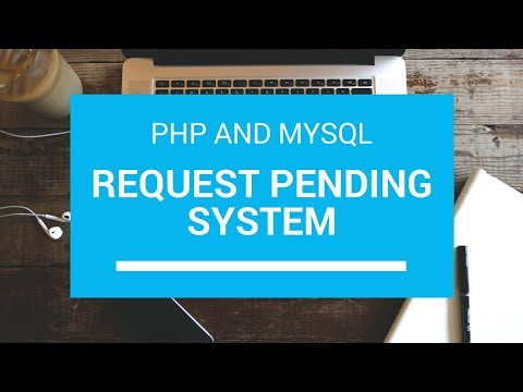 Pending Request Accept/Decline User Acc System In PHP And MySql Tutorial With Source Code