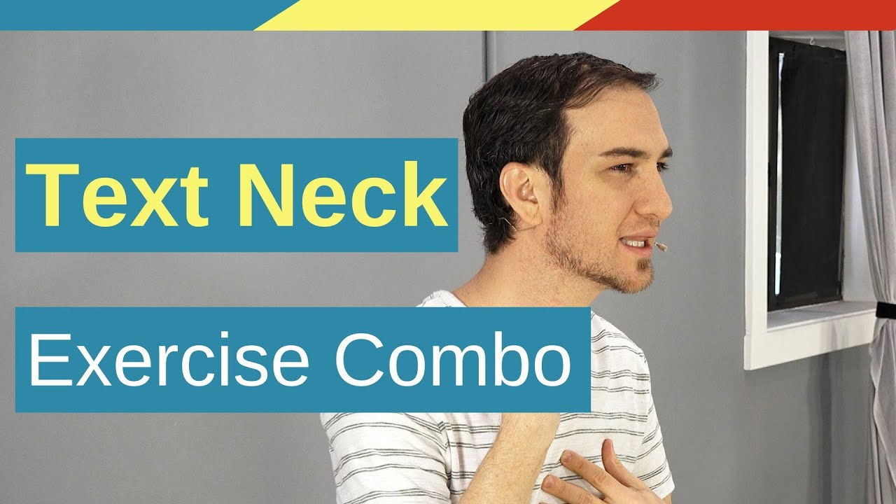 Text Neck Posture Exercise & Self Massage