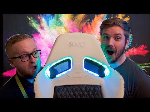 THE REAL RGB GAMING CHAIR - Vertagear