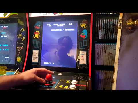 Arcade 1up Pac-Man Modded With Wico Style Leaf Switch Joystick
