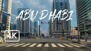 Driving in Abu Dhabi City - 4K