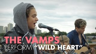 The Vamps - Wild Heart (LIVE on the ANDPOP Rooftop)