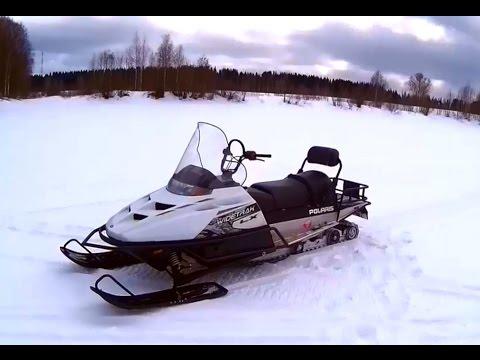 Покатушки на снегоходе Polaris Widetrak LX