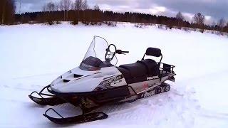 Покатушки на снігоході Polaris Widetrak LX