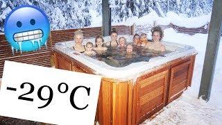 CRAZY TALK / -29°C SNOW SWIM (PART 1/2)